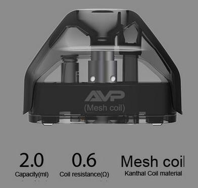 Aspire AVP Pods 0.6 Ohm Mesh (2 pack)