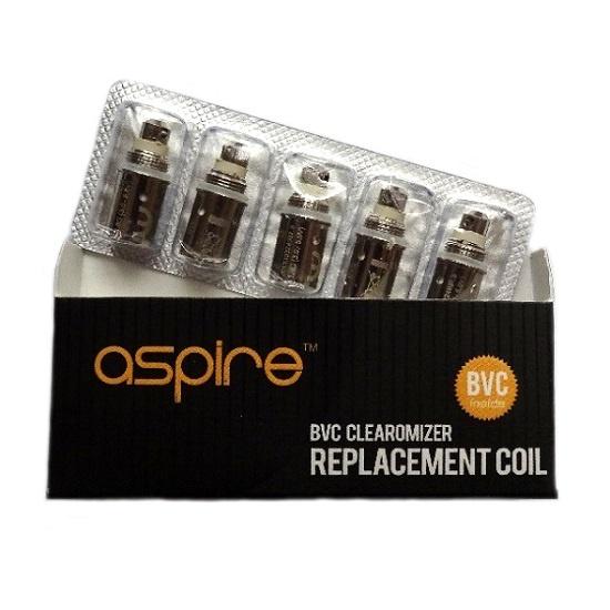 Aspire BVC 1.8 Ohm Coils (K1, K2, CE5, ET-S)