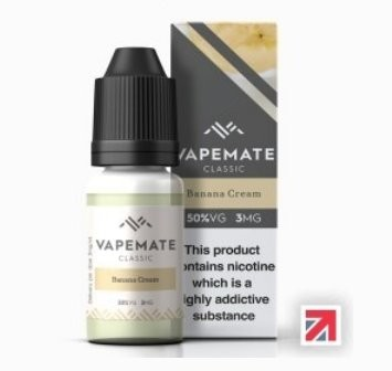 Banana Cream e-Liquid by Vapemate