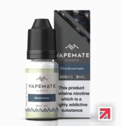Blackcurrant e-Liquid by Vapemate 50% VG