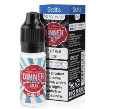 Lychee Ice Dinner Lady Nic Salt E-Liquid