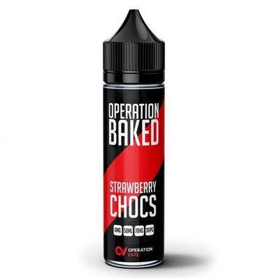Strawberry Chocs Operation Baked E-Liquid 50ml Shortfill