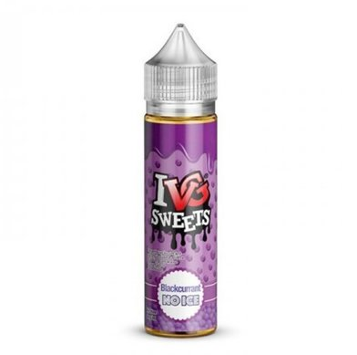 Blackcurrant Bubblegum Millions NO ICE IVG E-Liquid 50ml Shortfill