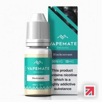 Blackcurrant e-Liquid by Vapemate 70% PG