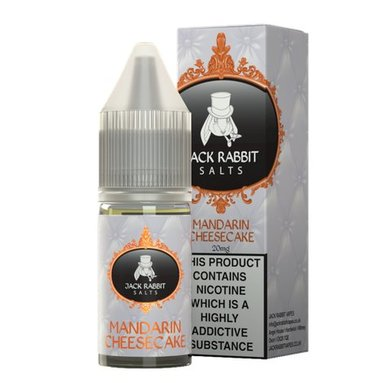 Mandarin Cheesecake Nic Salt E-Liquid by Jack Rabbit