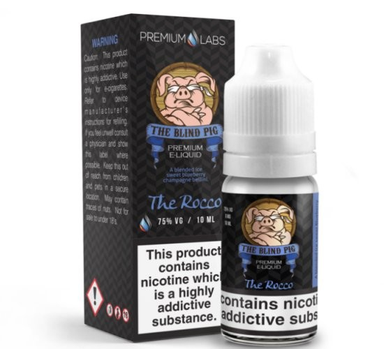 Blueberry Prosecco (The Rocco) e-Liquid by The Blind Pig