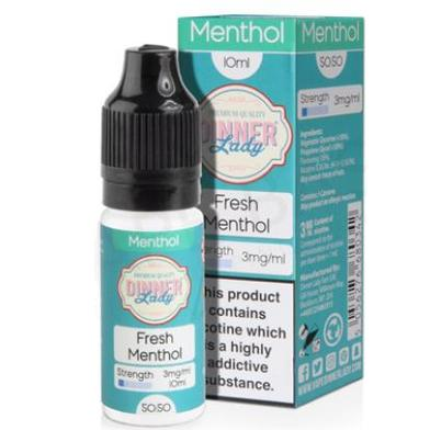 Fresh Menthol Dinner Lady E-Liquid