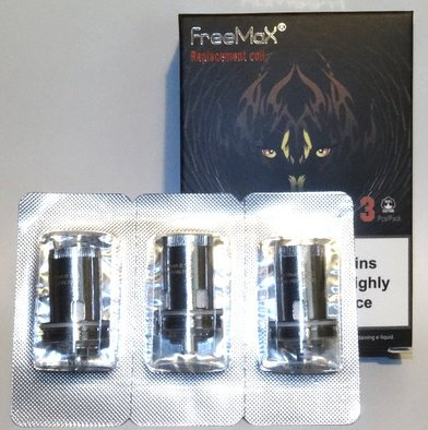 FreeMax Fireluke MeshPro Single Mesh 0.15 Ohm Coils