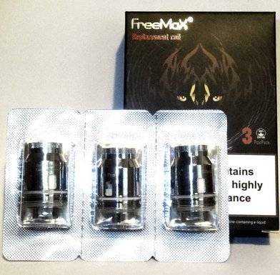 FreeMax Fireluke MeshPro Quad Mesh 0.15 Ohm Coils