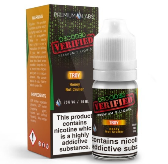 Honey Nut Cruller e-Liquid (Troy) by Decoded Verified