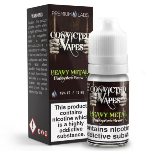 Melon Lime Cucumber Cream (Heavy Metal) e-Liquid by Convicted Vapes