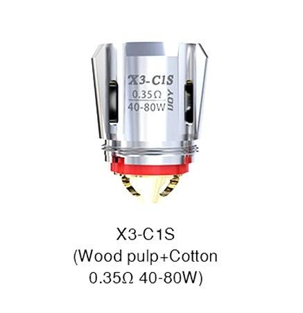 iJoy Avenger X3 C1S 0.35 Ohm Coils
