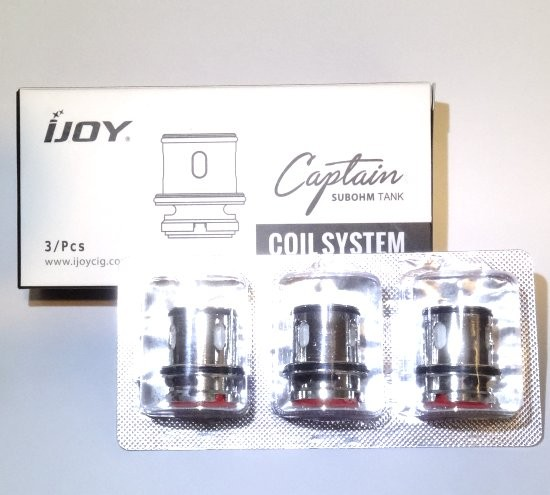 iJoy Captain S 0.25 Ohm Coils (CA3)
