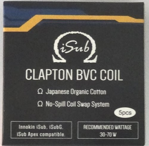 Innokin iSub Clapton BVC 0.5 Ohm Coils
