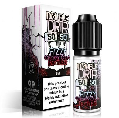 Fizzy Cherry Cola Bottles Double Drip e-Liquid 50VG