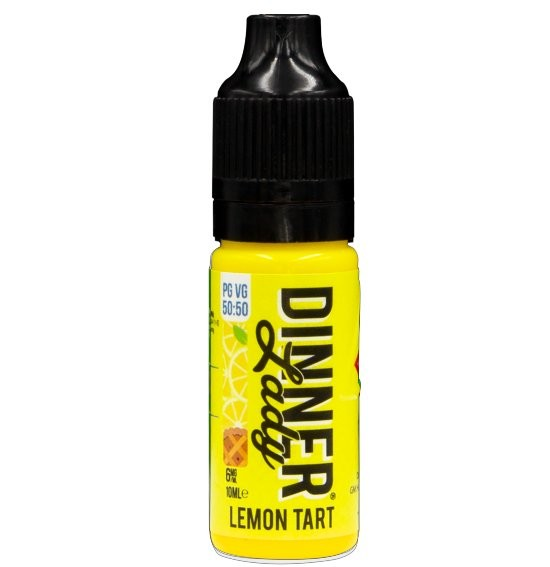 Lemon Tart Dinner Lady E-Liquid 50% VG