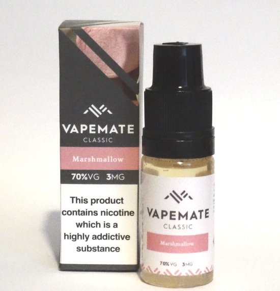 Marshmallow e-Liquid by Vapemate 70% VG
