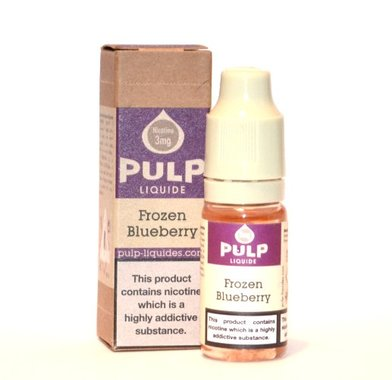 Menthol Blueberry (Frozen Blueberry) Pulp E-Liquid