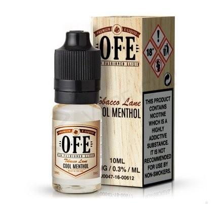 Menthol Tobacco (Cool Menthol) e-Liquid by OFE