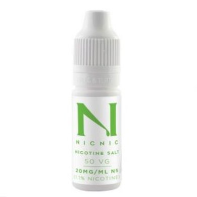 Nicotine Salt Shot 20mg 50VG Nic Nic
