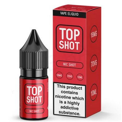 Nicotine Shot 18mg 70VG Top Shot