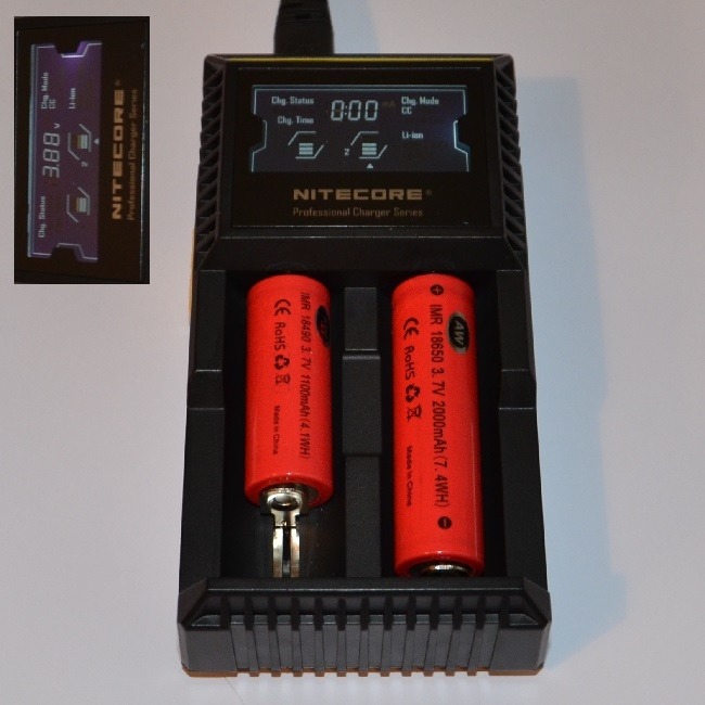 Nitecore D2 Twin Battery Charger DigiCharger