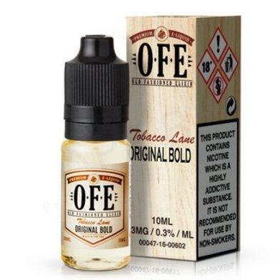 Original Bold Tobacco e-Liquid by OFE