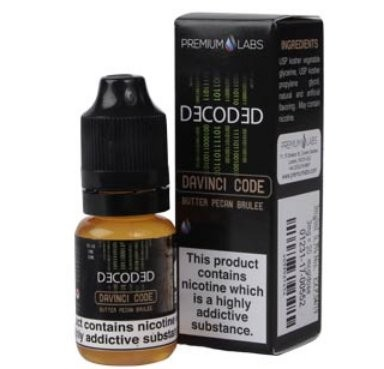 Pecan Brulee (Davinci Code) e-Liquid by Decoded (Premium Labs)