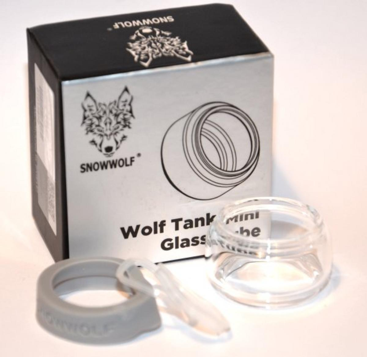 Snowwolf Sigelei 5 5ml Extension Glass Bubble Woolf Tank