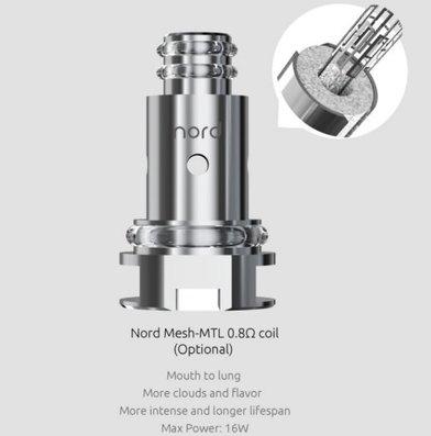 SMOK Nord 0.8 Ohm Mesh MTL Coil