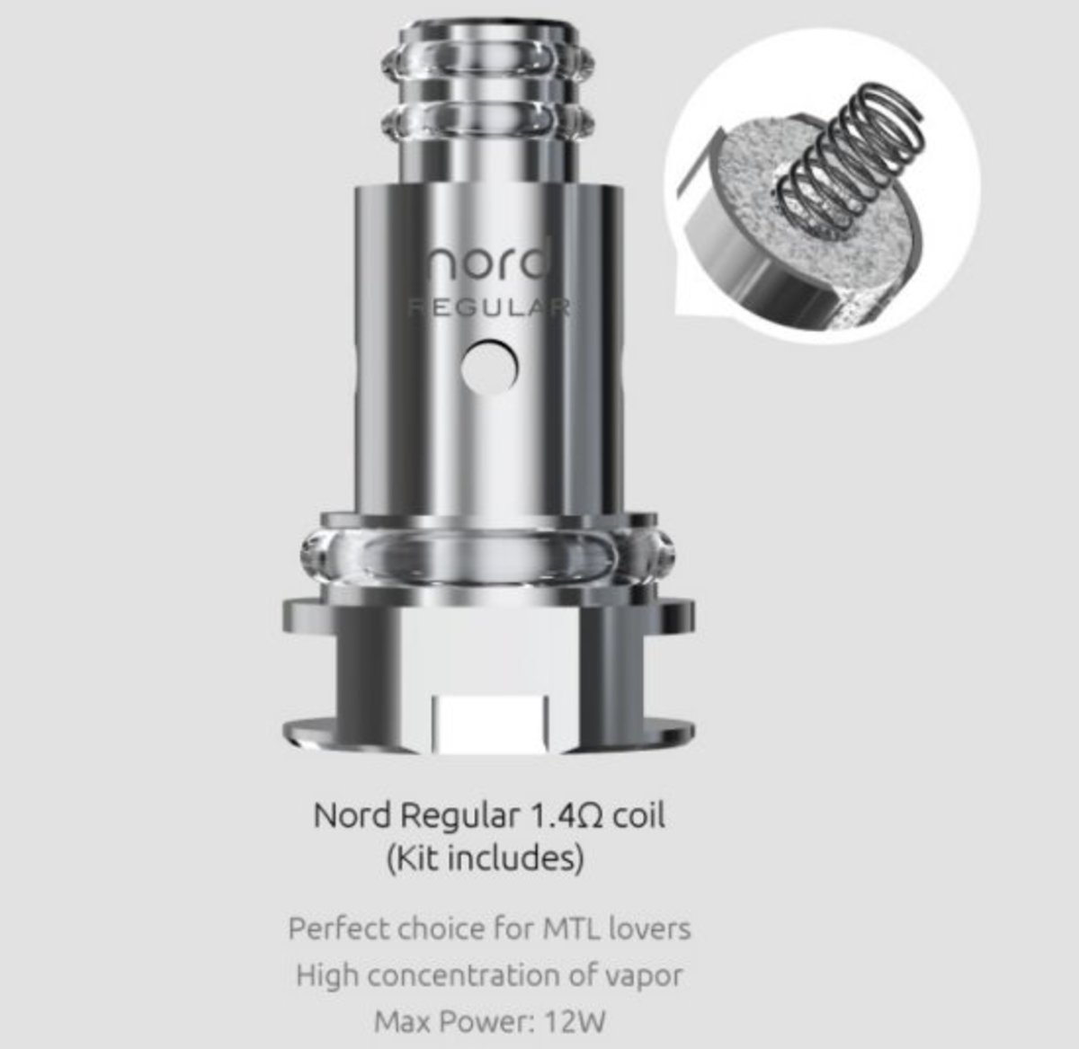 SMOK Nord Regular Coil 1 4 Ohm | Electronic Cigarette Co