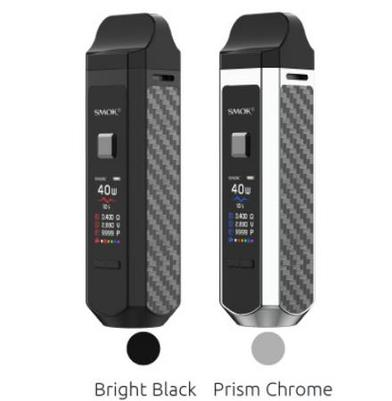 SMOK RPM40 Mod Pod Kit 1500mAh (reg 10ml e-liquid included)