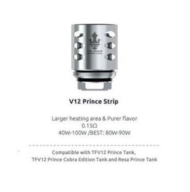 SMOK V12 Prince Strip 0.15 Ohm Coils