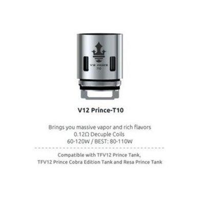 SMOK V12 Prince T10 0.12 Ohm Coils