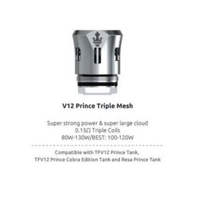 SMOK V12 Prince Triple Mesh 0.15 Ohm Coils