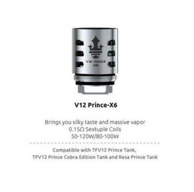SMOK V12 Prince X6 0.15 Ohm Coils