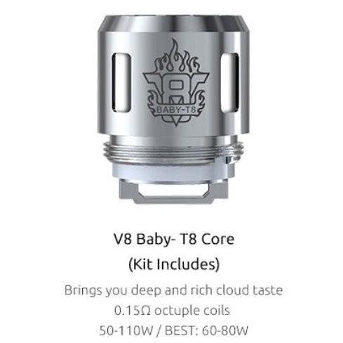 SMOK V8 Baby T8 0.15 Ohm Coils