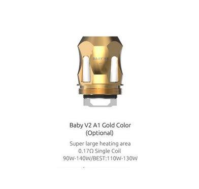 SMOK V8 Baby V2 A1 0.17 Ohm Coils (gold)