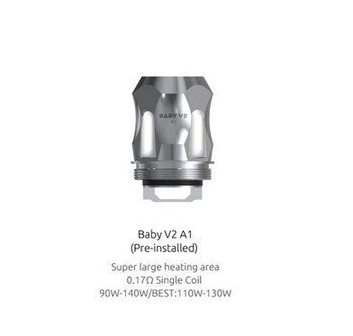 SMOK V8 Mini/Baby V2 A1 0.17 Ohm Coils