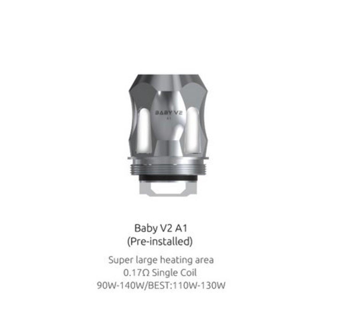 SMOK V8 Baby V2 A1 Coils 0 17 Ohm | Electronic Cigarette Co