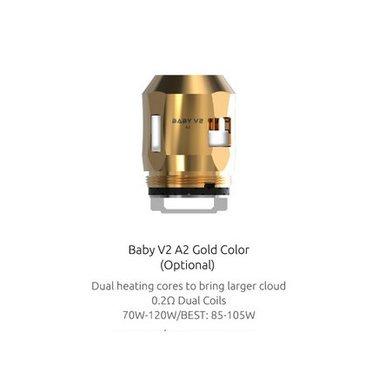 SMOK V8 Baby V2 A2 0.2 Ohm Coils (gold)