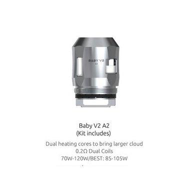 SMOK V8 Mini/Baby V2 A2 0.2 Ohm Coils