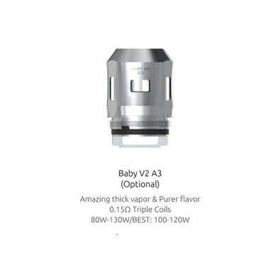 SMOK V8 Mini/Baby V2 A3 0.15 Ohm Coils