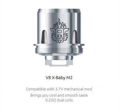SMOK V8 X Baby M2 0.25 Ohm Coils