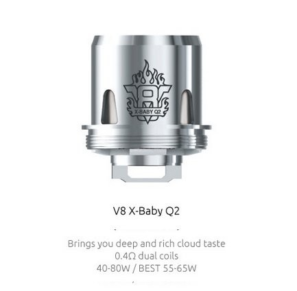 Smok V8 X Baby Q2 Coils 0 4 Ohm Electronic Cigarette Co