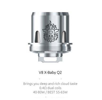SMOK V8 X Baby Q2 0.4 Ohm Coils