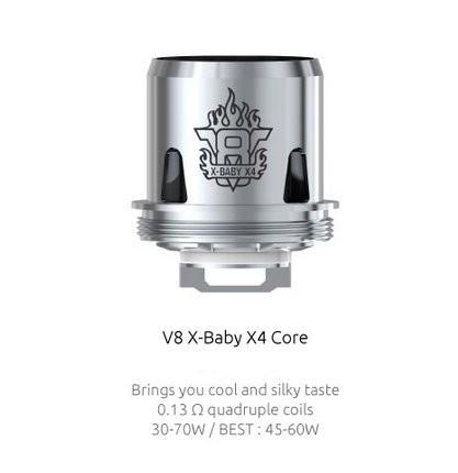 SMOK V8 X Baby X4 0.13 Ohm Coils