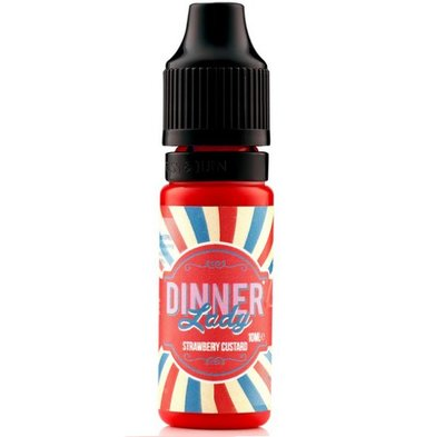 Strawberry Custard e-Liquid by Dinner Lady (70% VG)