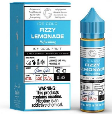 Fizzy Lemonade Glas E-Liquid 50ml Shortfill