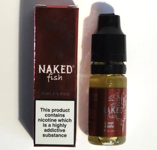 Strawberry Shortcake (Great White) e-Liquid by Naked Fish